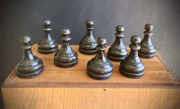 The Imperials Chess Set Black Pawns