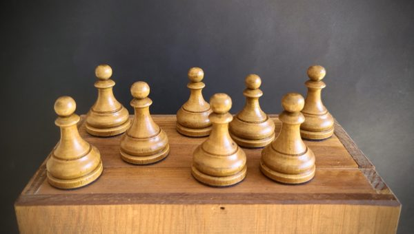 The Imperials Chess Set White Pawns