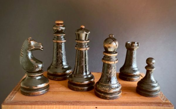 The Imperials Chess Set Black Pieces