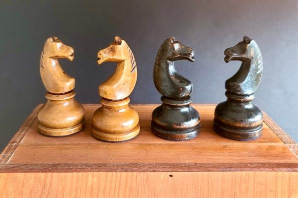 The Imperials Chess Set Knights